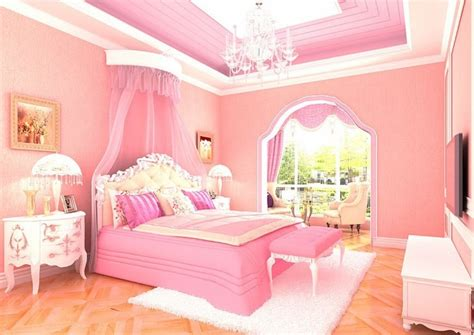 pink wallpaper for bedroom pastoral style bedroom pink flower wallpaper new home