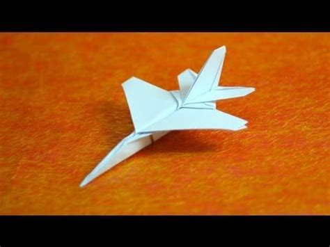 fighter jet origami how to make origami f16 jet fighter paper airplanes step