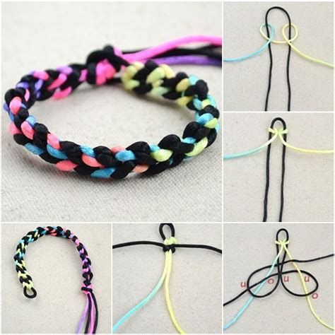 how to make string jewelry easy to make bracelets with string jewelry