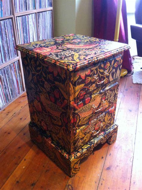 decoupage uk lorsten 187 decoupage drawers furniture morris 8
