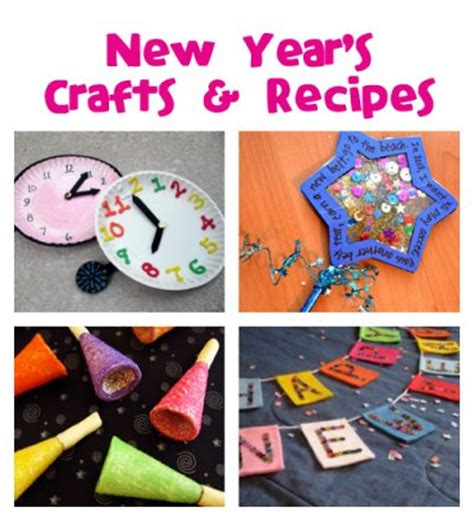 happy new year crafts for new year s crafts recipes family crafts
