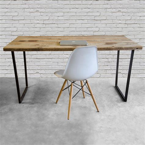 modern rustic desk modern reclaimed wood desk home office desk recycled