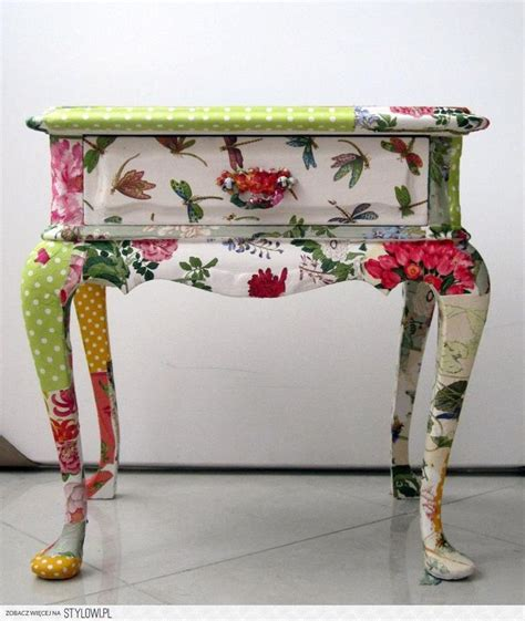 decoupage modge podge modge podge furniture i will never see tables or chairs