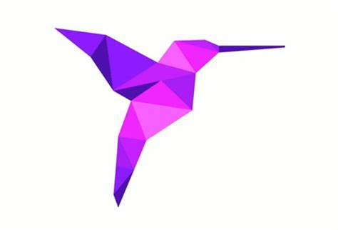 hummingbird origami on origami birds bird tattoos and origami