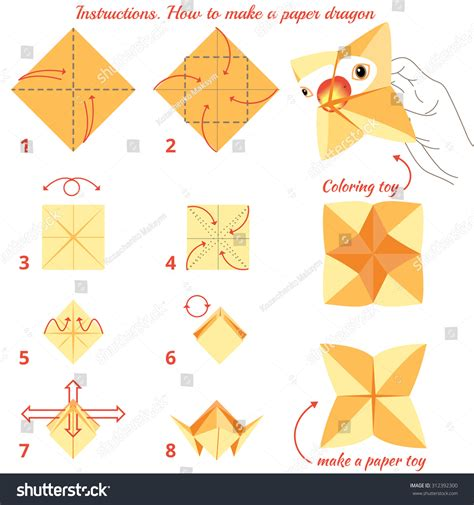 how to do origami bird step by step how make paper bird origami stock