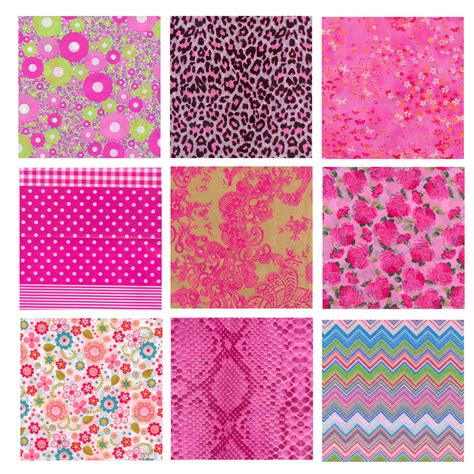 Decopatch Decoupage Printed Paper 381 X 305mm Pink