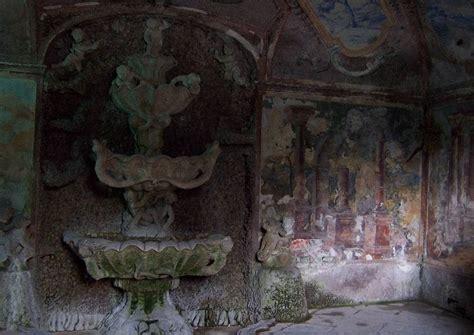 Der Garten Tschechischer by Tschechien Ploskovice Schloss 02 Wassergrotten Wandbrunnen