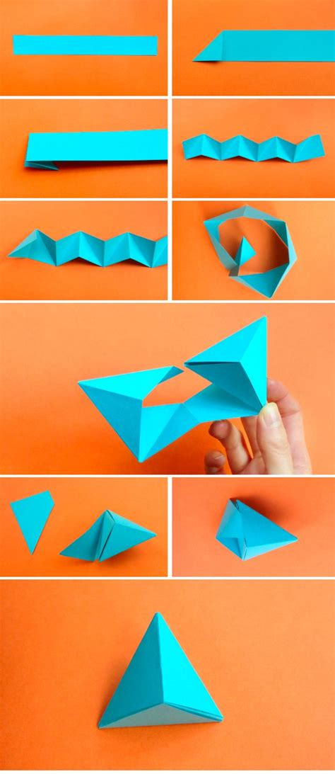 paper triangles origami origami diversos