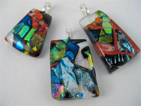 how to make dichroic glass jewelry calyx glass a fused glass cocktail ring