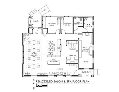 freddie b salon spa stand alone tenant improvement