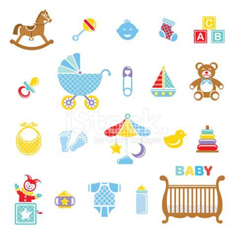 baby boy icon set stock photos freeimages com