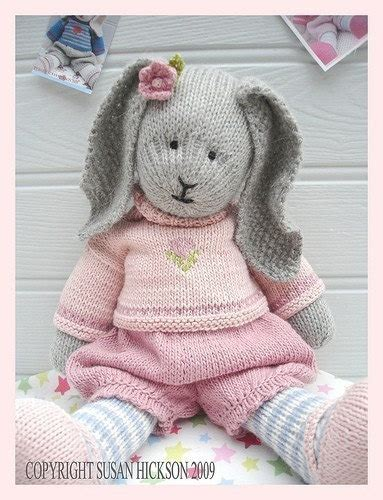 free knitting patterns for rabbits bunny knitting pattern knitting pattern by