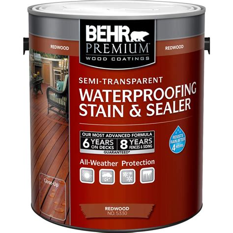 home depot paint protection behr premium 1 gal st 330 redwood semi transparent
