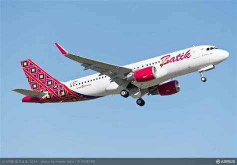 batik air airbus delivers a320 s to s batik air