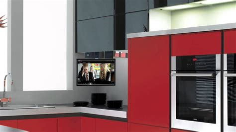 tv for kitchen cabinet eidola cabinet flip smart kitchen tv