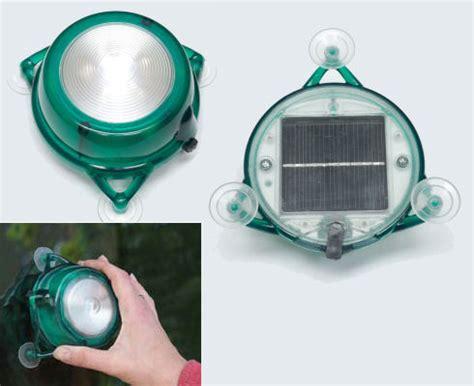 solar powered window mounted light envirogadget