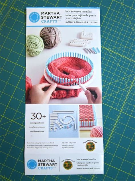 martha stewart crafts knit weave loom kit review martha stewart crafts and brand yarn knit and