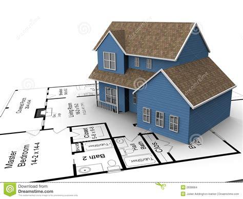 new home building plans new house plans stock illustration illustration of family 2838684