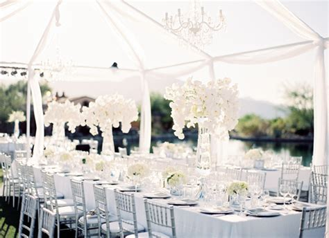 white wedding decoration ideas the all white wedding philadelphia wedding makeup hair