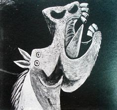 picasso paintings of horses picasso sketch for guernica s no 1 http www