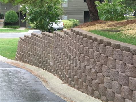 decorative concrete blocks for garden walls interior and exterior drainage terms to robbins and