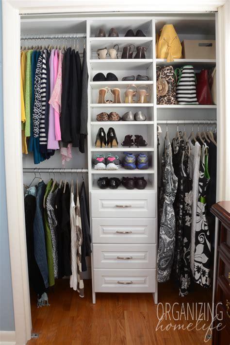 organize bedroom closet master bedroom closet organization the reveal