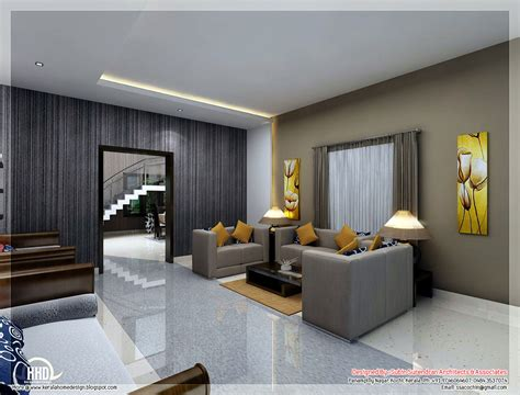 interior design from home awesome 3d interior renderings kerala home design and floor plans