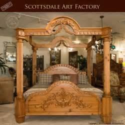 custom bedroom furniture canopy bed carved custom bedroom furniture