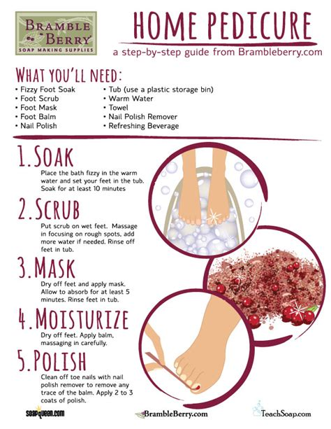 to do at home for home pedicure how to free bramble berry 174 soap