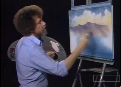 bob ross painting clouds viral happy clouds and accidents with