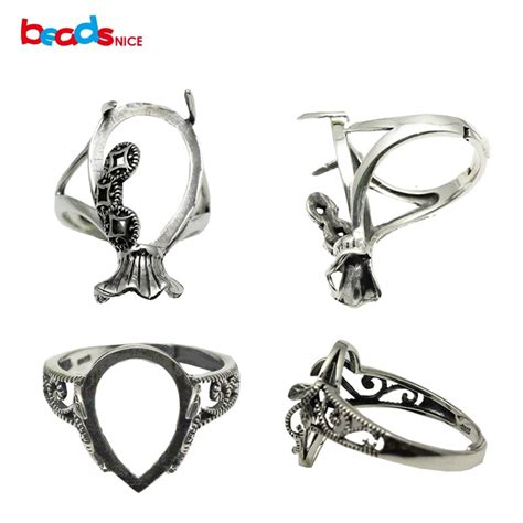 silver ring blanks jewelry buy wholesale sterling silver ring blanks from