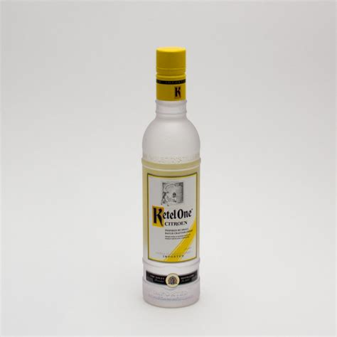 Ketel One Citroen Vodka by Ketel One Citroen Vodka 375ml Wine And Liquor