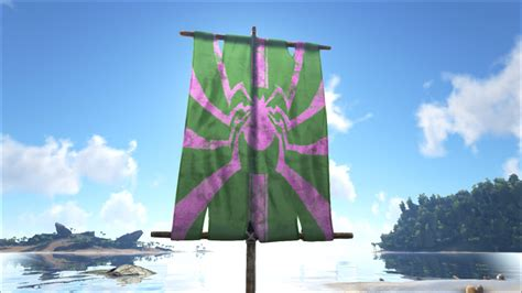 spray painter ark survival spider flag official ark survival evolved wiki