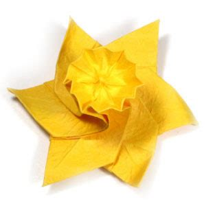 origami daffodil origami daffodils and lots of others