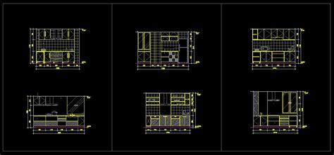 kitchen cad design kitchen design template cad files dwg files plans