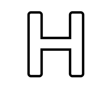 free h letter h clipart cliparts co