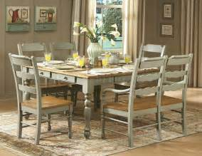 distressed dining room table distressed seafoam green finish dinette table w options