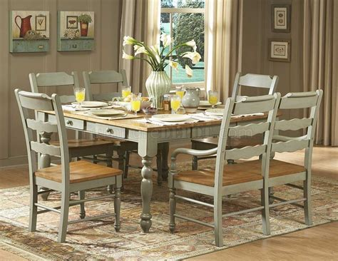 green kitchen table distressed seafoam green finish dinette table w options