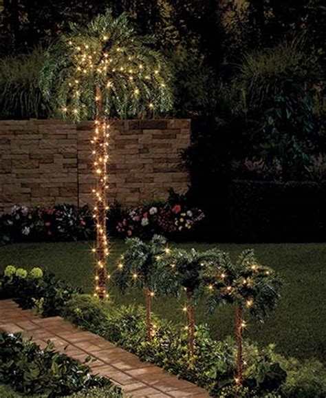 small lighted palm tree lighted palm trees indoor outdoor tropical pathway lights