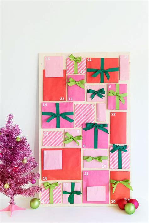 paper craft calendars how to make an advent calendar