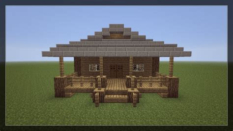 how to make a small house how to make a small minecraft house