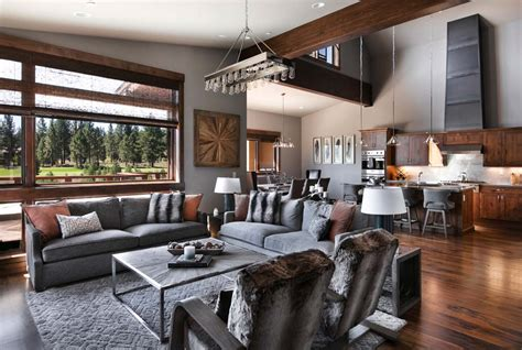 interior design mountain homes warm and relaxing mountain contemporary home in truckee