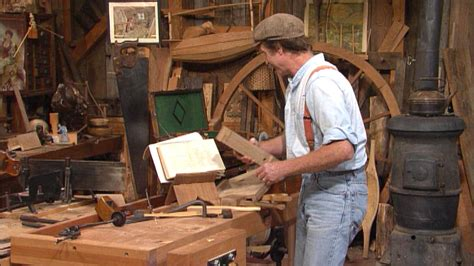 pbs woodworking show s30 ep7 who wrote the book of sloyd the