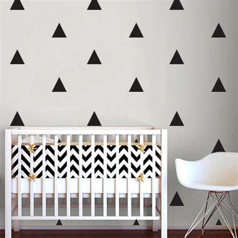 wall stickers baby room triangle wall sticker home decor baby nursery wall decals