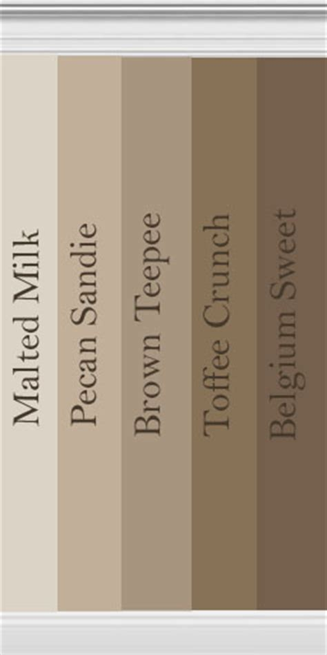 behr paint color teepee mod the sims collection of brown walls inspired by behr