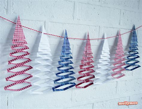 free paper crafts mollymoocrafts free printables tree garland