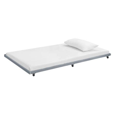 roll out bed frame walker edison roll out trundle bed frame jet