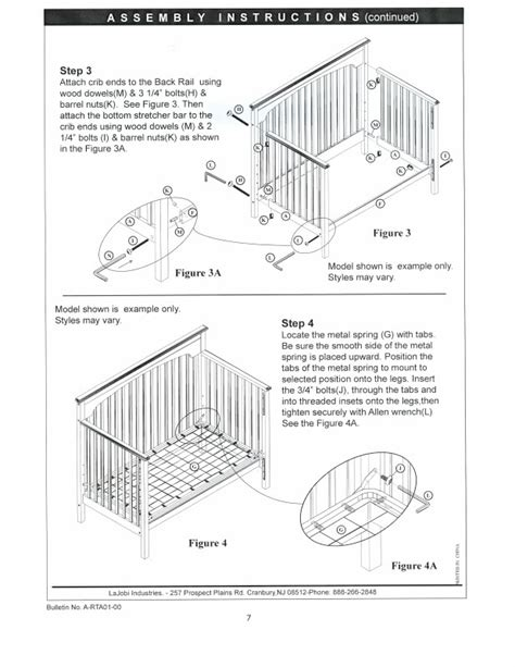 simmons baby crib assembly crib assembly creative ideas of baby cribs