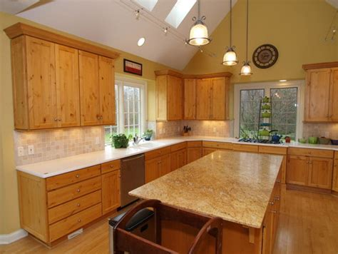 paint colors for kitchen with hickory cabinets paint color in kitchen with hickory cabinets