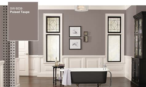sherwin williams paint store colors introducing the 2017 color of the year poised taupe sw 6039